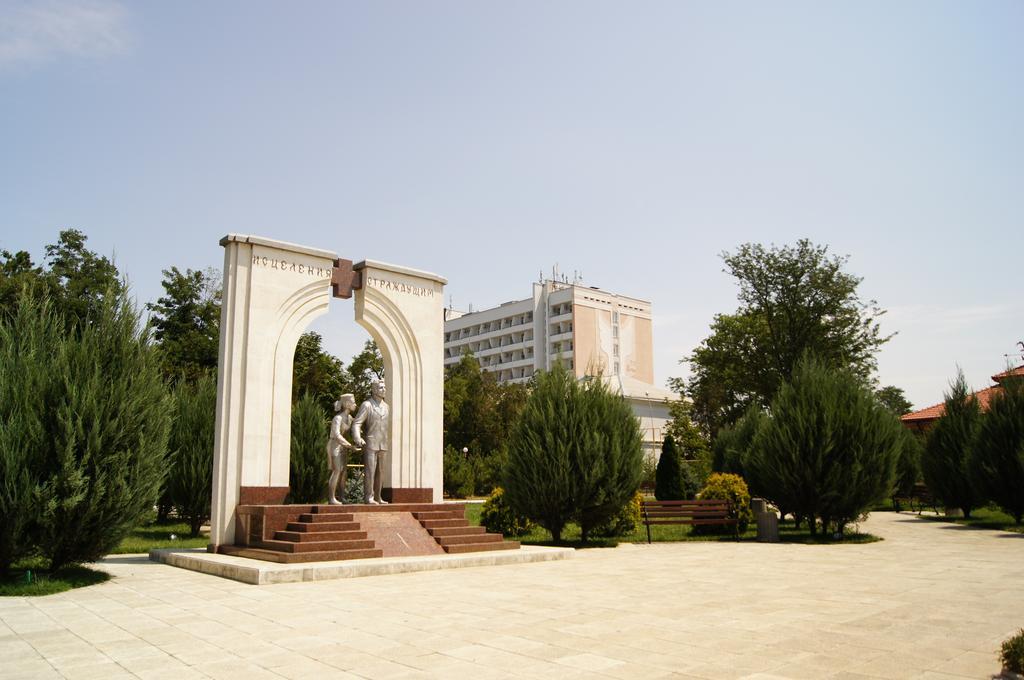 Санаторий им. Пирогова, Саки. Курортный парк