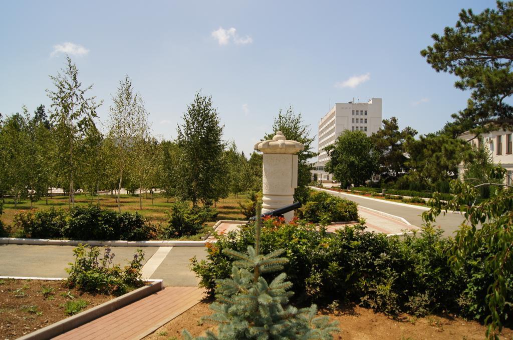 Санаторий им. Пирогова, Саки. Вид на центральный корпус