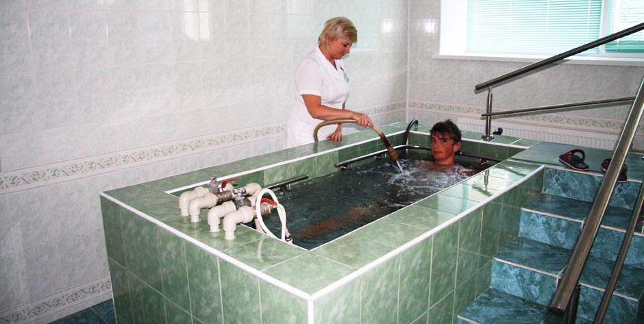 Санаторий им. Пирогова, Саки. Гидромасажная ванна