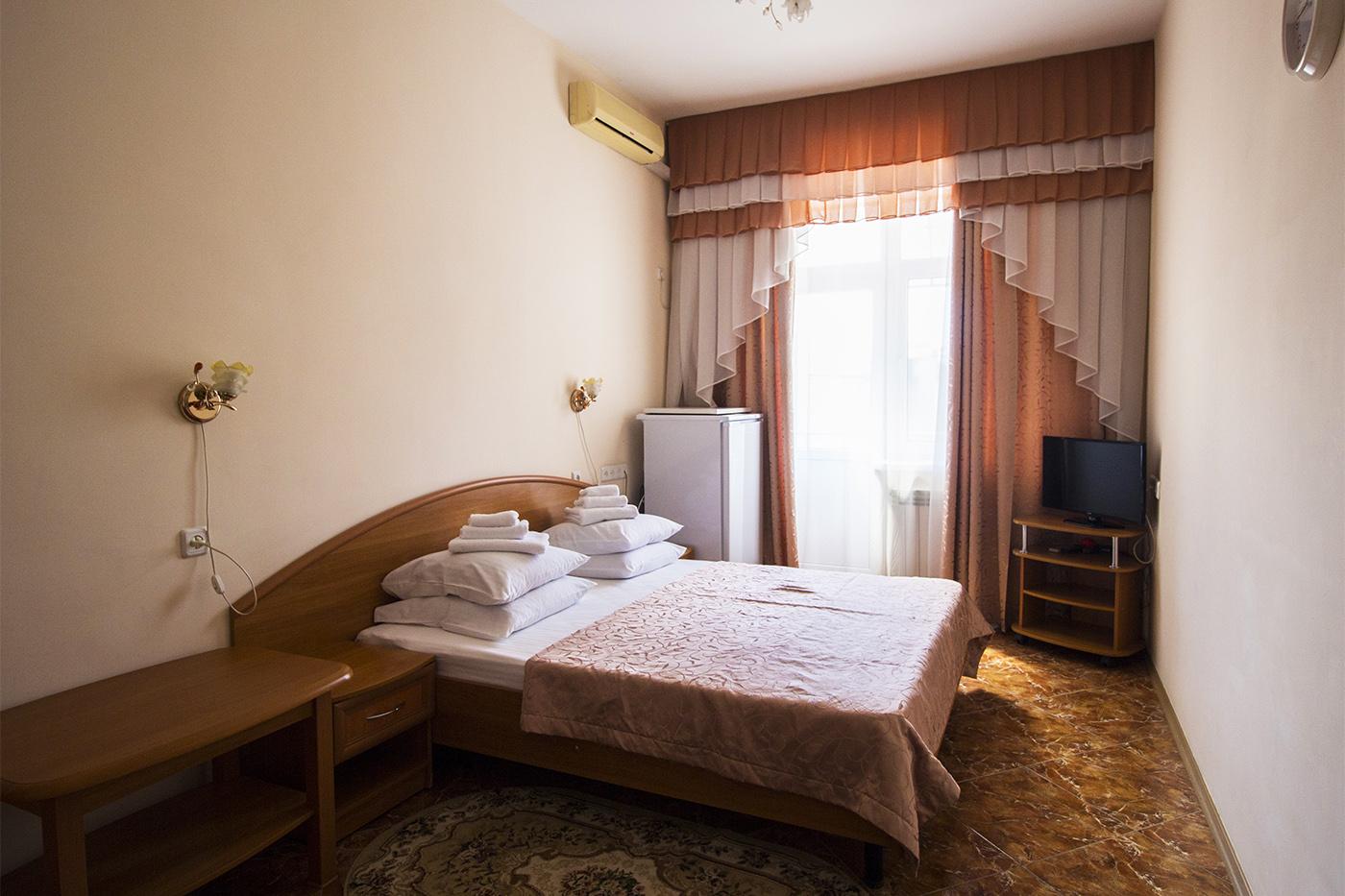 1-комнатный 2-местный номер СТАНДАРТ I категории, корпус № 28/2, 96/6. Санаторий им. Пирогова. Саки