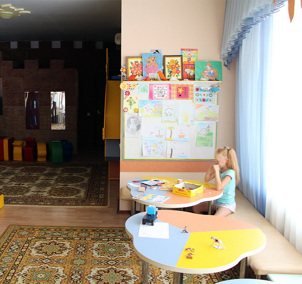 Санаторий Пирогова, Саки. Детская комната